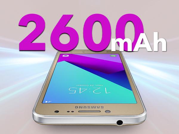 Thời lượng pin Samsung Galaxy J2 Prime quá ấn tưọng so với mức giá