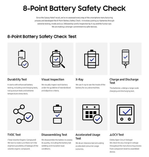 Samsung Galaxy S8 nhanh hết pin không? Có an toàn không?