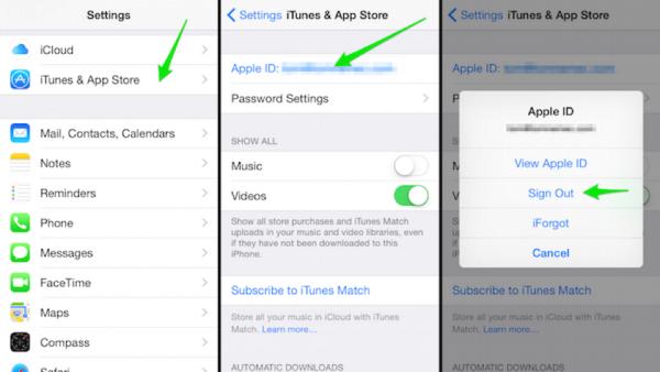 Cách xóa và vô hiệu hóa tài khoản Apple ID trên iOS