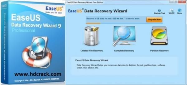 EaseUS Data Recovery Wizard cung cấp cho bạn giải pháp khôi phục dữ liệu toàn diện cho người dùng máy tính