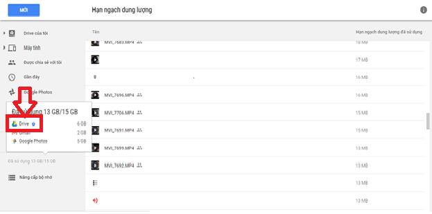 Hướng dẫn dọn dẹp Google Drive một cách hiệu quả