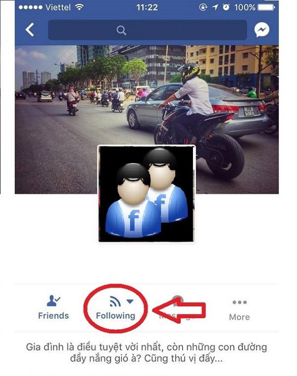 Hủy theo dõi bạn bè trên Facebook