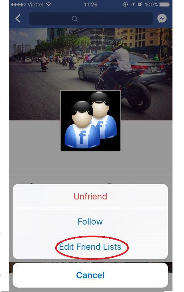 """Đây chính là nơi Facebook cho phép bạn đưa ai đó vào danh mục """"Hạn chế"""" (Restricted)"""