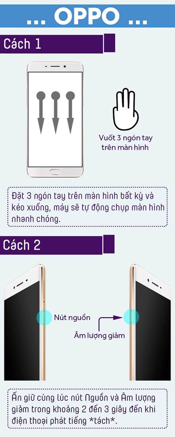 Cách chụp ảnh màn hình trên smartphone đơn giản và hữu ích