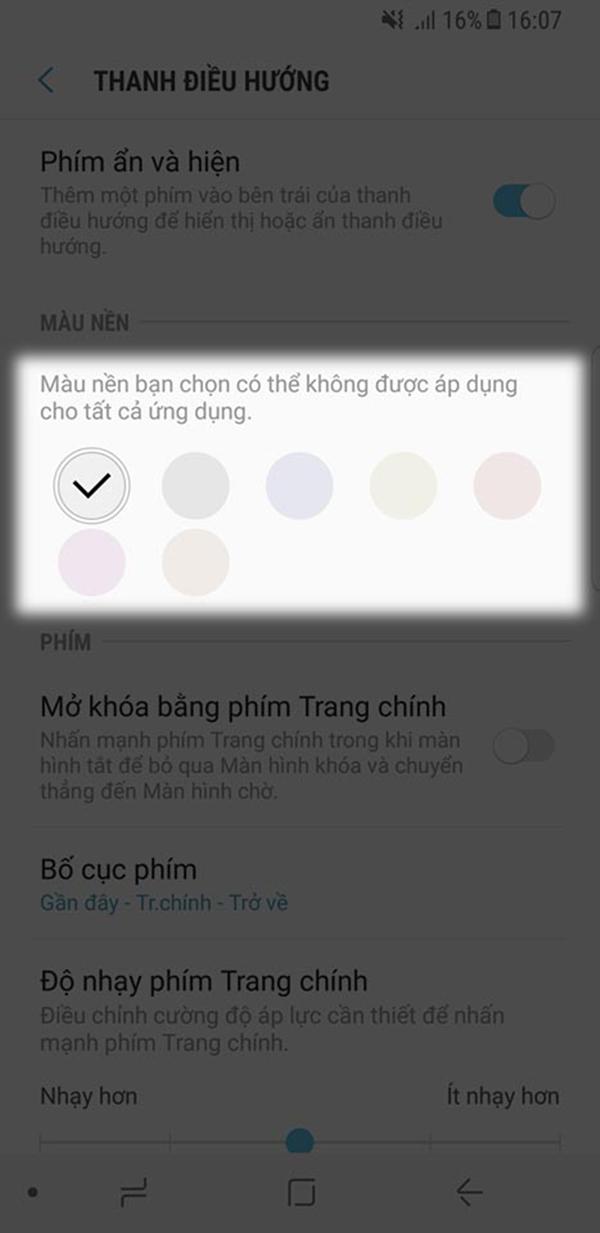 Mẹo tùy chỉnh phím điều hướng ảo trên điện thoại Samsung nhanh nhất