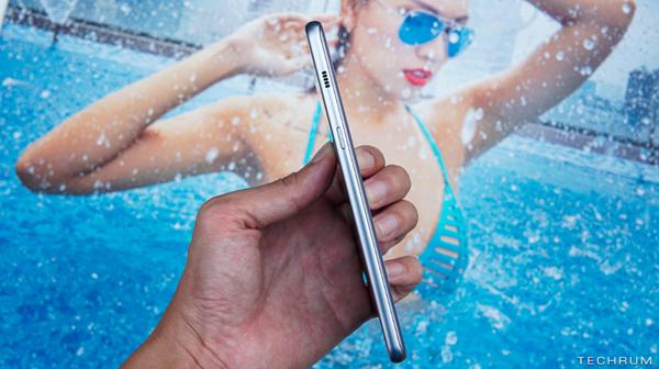 Trên tay Galaxy A8+ – Smartphone không viền, chống nước siêu ấn tượng của Samsung