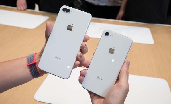 Hình ảnh bộ đôi iPhone 8 và iPhone 8 Plus