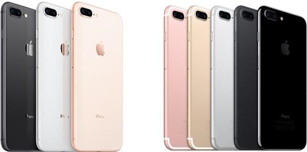 Khám phá xem iPhone 8 Plus khác iPhone 7 Plus ở chỗ nào?