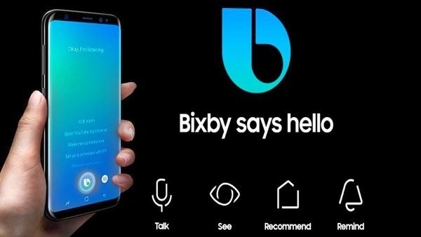 Trợ lý ảo Bixby của Samsung được tích hợp trên Galaxy S8 và Note8