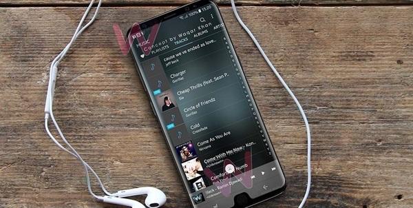 Galaxy S9xuất hiện gây ấn tượng rất lớn với thiết kế cách điệu ở mặt trước