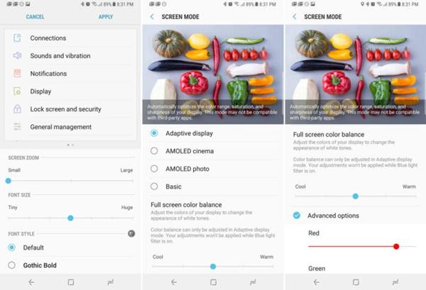 Những mẹo sử dụng Galaxy Note 8 có thể bạn chưa biết?