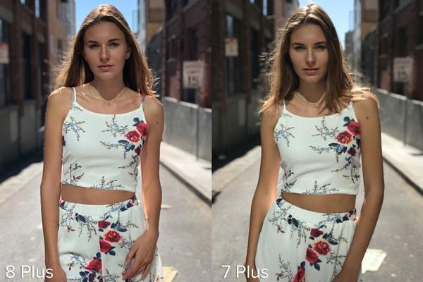 Bạn hãy để ý sự khác biệt tóc của cô gái ở 2 bức ảnh