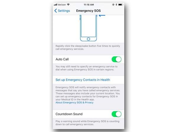 Cách kích hoạt Emergency SOS trên iOS 11 cực nhanh cho bạn