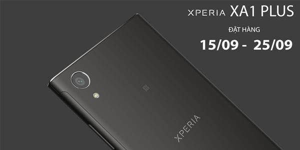 Đợt đặt hàng Sony Xperia XA1 Plus đã sẵn sàng mở tại Viettel Store trên toàn quốc