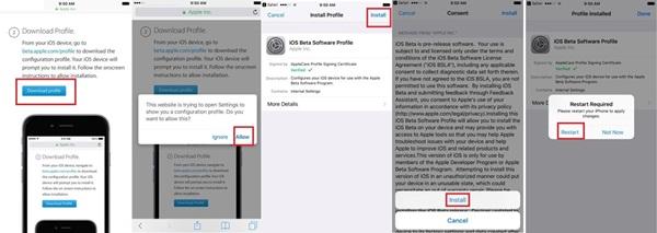 """Hướng dẫn bạn cách nâng cấp iOS 11 """"luôn và ngay"""""""