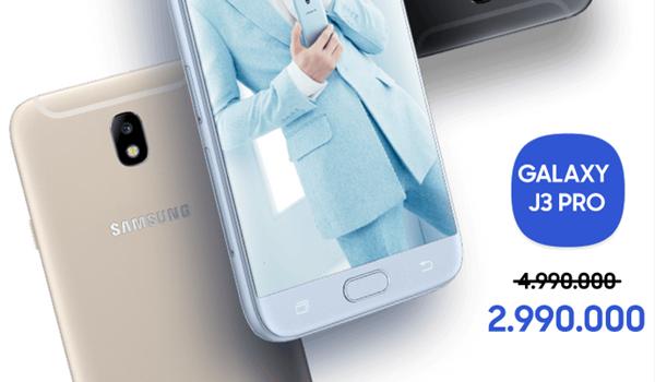 Từ mức 4.450.000 đồng, khi mua Galaxy J3 Pro tại Viettel Store chỉ còn  2.990.000 đồng khi bạn tham gia chương trình Super Combo 4G.