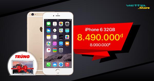 Phone 6 32GB dù đã ra mắt từ lâu, thế nhưng vẫn là sự lựa chọn hàng đầu của rất nhiều người dùng