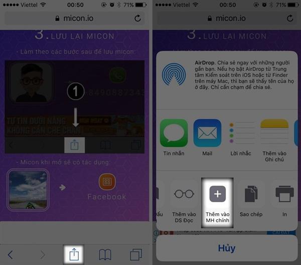 Cách tạo icon trên iPhone bằng chính hình của bạn cực thú vị