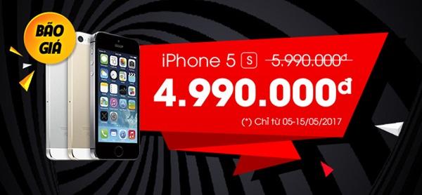 iPhone 5s đang giảm giá cực mạnh