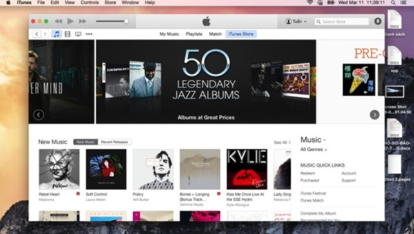 Khởi động iTunes để cài nhạc chuông cho iPhone