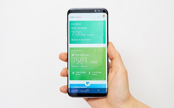 Trợ lý ảo Bixby chưa được Samsung đưa vào sử dụng rộng rãi