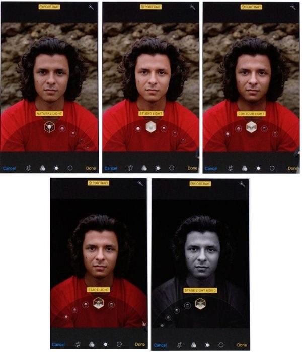 Ảnh chụp bằng chế độ Portrait Lighting không khác gì ảnh trong studio