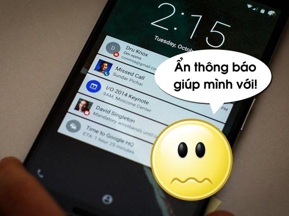Cách tắt thông báo trên màn hình khóa Android để tránh phiền phức và lộ thông tin