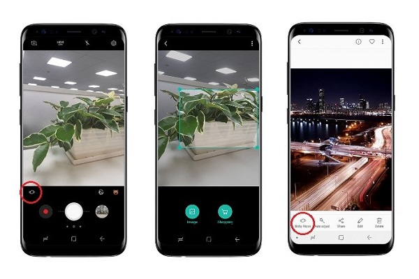 Cách truy cập Bixby Vision