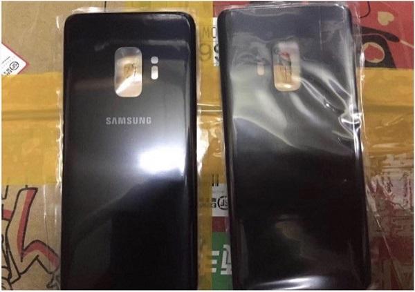 Mặt lưng rò rỉ của Galaxy S9