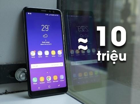 Có 10 triệu, nên mua smartphone nào đón Tết 2018?