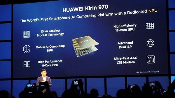 Vi xử lý Kirin 970 đánh mạnh vào AI và những công nghệ tối tân nhất hiện nay, xuất hiện trên bộ đôi Huawei Mate 10 và Mate 10 Pro