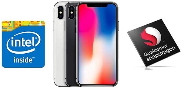 Mẹo kiểm tra chip iPhone X do Qualcomm hay Intel sản xuất
