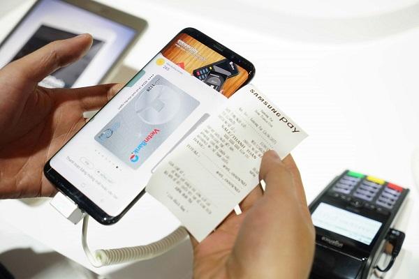Hướng dẫn sử dụng Samsung Pay trên Galaxy Note FE