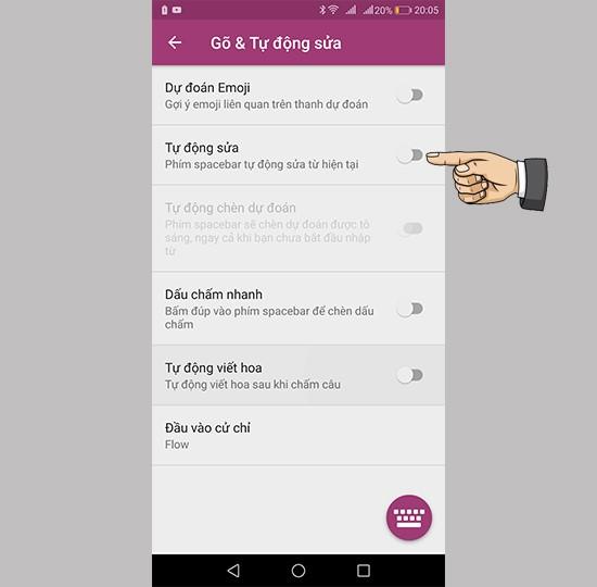 Cách tắt tiên đoán trên điện thoại Huawei khi soạn thảo văn bản