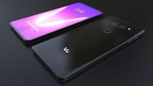 LG V40 với thiết kế tai thỏ, trang bị 5 camera