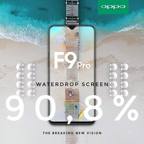 OPPO F9 sẽ có giá bán bao nhiêu