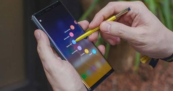 điệm thoại Samsung Galaxy note 9 có gì mới