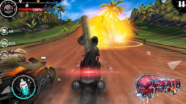 Game đua xeDeath Moto 4