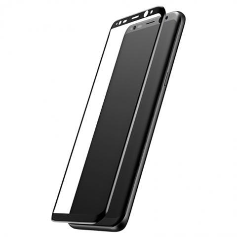 Tấm dán cường lực Galaxy S8 trong suốt và mềm mại, không làm che mất đi màu sắc yêu thích của chủ nhân ở mặt sau