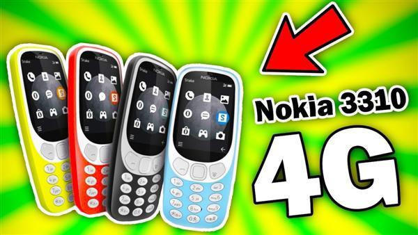 Nokia 3310 sẽ được trang bị mạng 4G LTE