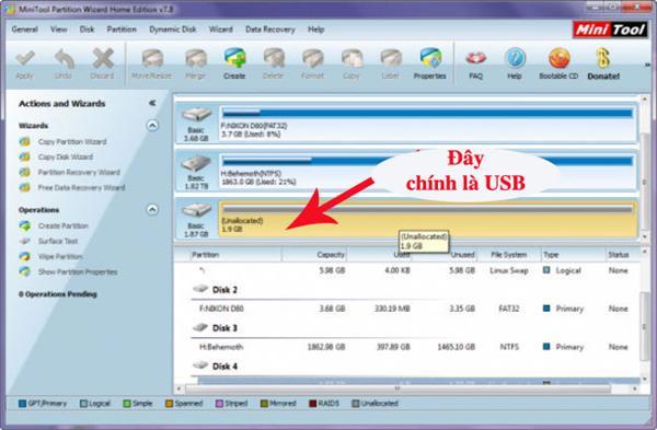 Cách khắc phục USB đòi format trong chớp nhoáng
