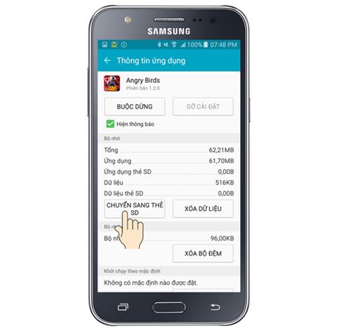 Cách chuyển game vào thẻ nhớ SD trên Android