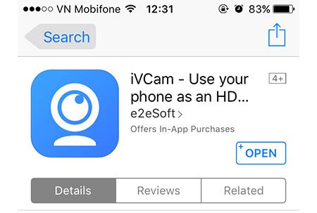 Hướng dẫn cách biến iPhone thành Webcam cực thú vị