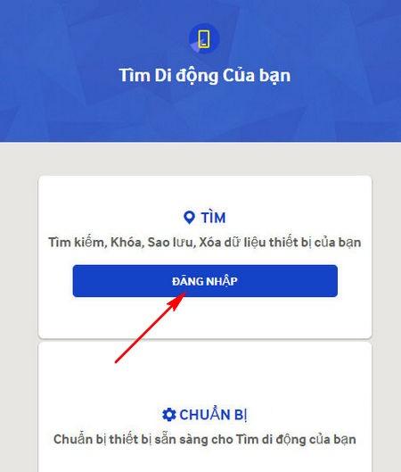 Hướng dẫn cách định vị điện thoại Samsung khi bị mất