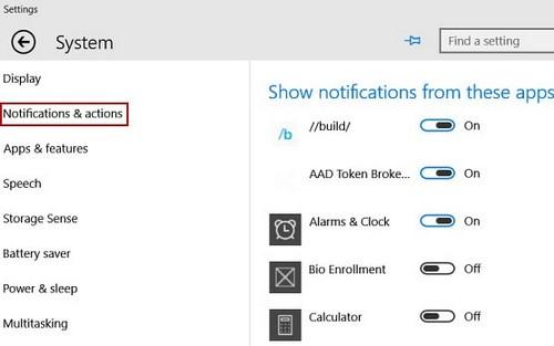 Cách tắt thông báo trên Windows 10 cực đơn giản