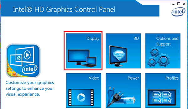 Tăng FPS thông quaIntel HD Graphics Control Panel