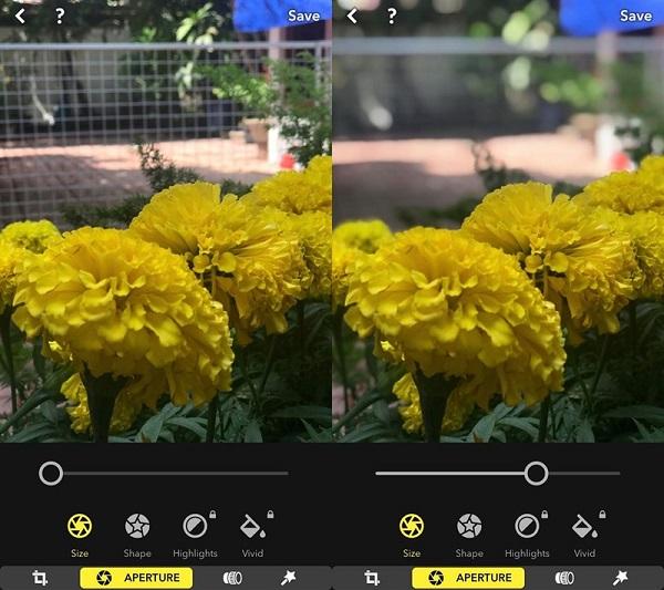 Tải về ứng dụngFocos để thực hiện việc chụp ảnh xóa phông