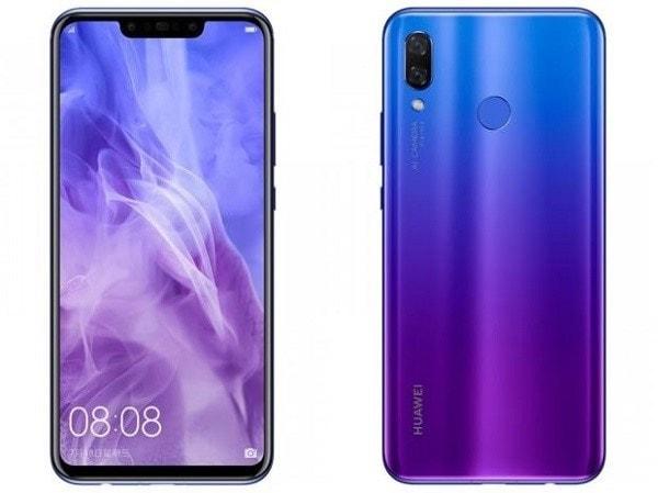 Cấu hình và giá bán Huawei Nova 3i