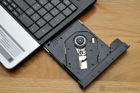 2. Giải pháp cho laptop nhận được đĩa: