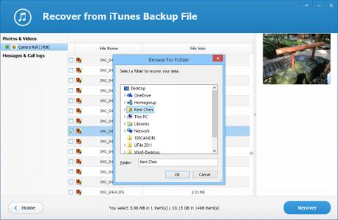 Cách dùng iTunes Backup Extractor – Công cụ tuyệt vời thay thế iTunes